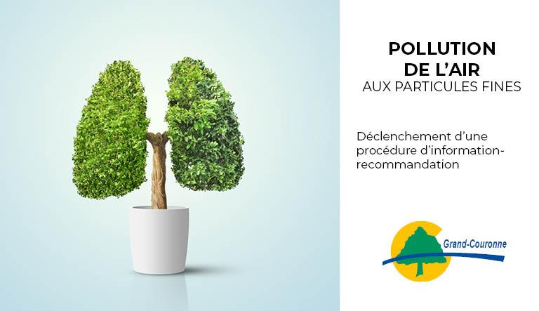 Pollution de l'air par les particules fines