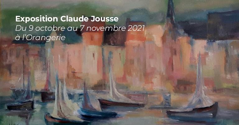 Exposition – Claude Jousse
