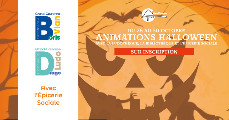 Animations Halloween à Grand-Couronne