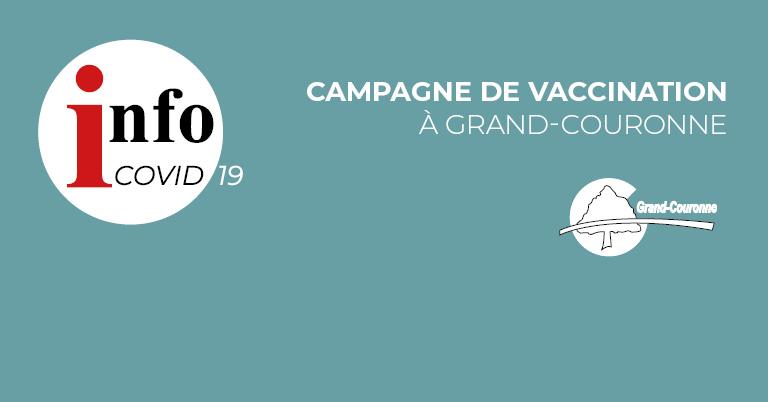 Campagne de vaccination à Grand-Couronne